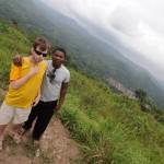 Gab et Enam au sommet du mont kloto