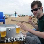 Gab, une bière sur la plage